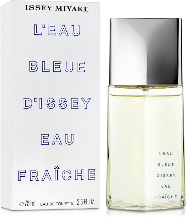 Issey Miyake L'Eau Bleue DIssey Eau Fraiche - Тоалетна вода — снимка N2