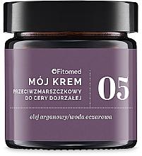 Парфюмерия и Козметика Крем против бръчки с арганово масло - Fitomed Anti-wrinkle Cream Nr5