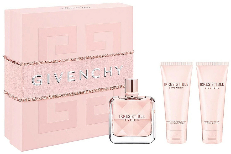 Givenchy Irresistible Givenchy - Комплект (парф. вода/80ml + лос. за тяло/75ml + душ гел/75ml) — снимка N1