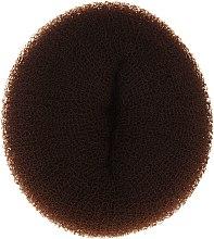 Парфюми, Парфюмерия, козметика Гъба за кок, 15х6.5 см, кафява - Ronney Professional Hair Bun 056