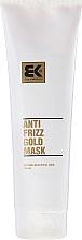 Парфюмерия и Козметика Възстановяваща маска за увредена коса - Brazil Keratin Anti Frizz Gold Mask