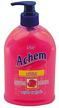 Течен сапун с аромат на роза - Achem Soap