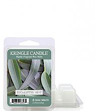 Парфюмерия и Козметика Ароматен восък - Kringle Candle Eucalyptus Mint Wax Melt