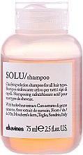 Парфюмерия и Козметика Активен освежаващ шампоан за дълбоко почистване - Davines Solu Shampoo