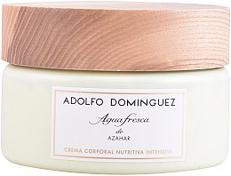 Парфюмерия и Козметика Adolfo Dominguez Agua Fresca de Azahar - Крем за тяло