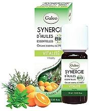 """Парфюмерия и Козметика Смес от етерични масла """"Енергия"""" - Galeo Organic Essential Oil Synergy Vitality"""