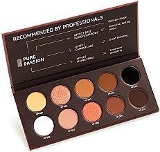 Парфюмерия и Козметика Палитра с пресовани сенки за очи - Affect Cosmetics Pure Passion Eyeshadow Palette