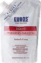 Парфюмерия и Козметика Емулсия за душ - Eubos Med Basic Skin Care Liquid Washing Emulsion Red (пълнител)