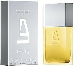 Парфюмерия и Козметика Azzaro Pour Homme L'Eau - Тоалетна вода