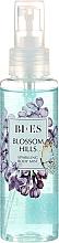Bi-es Blossom Hills Sparkling Body Mist - Парфюмен мист за тяло с блестящи частици — снимка N1
