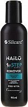 Парфюмерия и Козметика Течност за премахване на хибриден лак за нокти - Silcare Nailo Remover Pro-vita