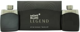 Парфюми, Парфюмерия, козметика Montblanc Legend - Комплект (edt/100ml + asl/100ml)