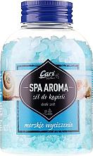 Парфюмерия и Козметика Успокояващи сили за вана - Cari Spa Aroma Salt For Bath