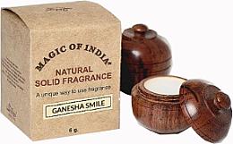 """Парфюми, Парфюмерия, козметика Натурален парфюмен крем с ориенталски аромат """"Ganesha Smile"""" - Shamasa"""