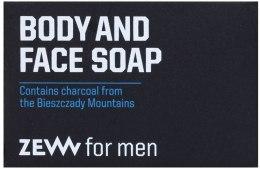 Парфюми, Парфюмерия, козметика Сапун за лице и тяло - Zew For Men Body And Face Soap