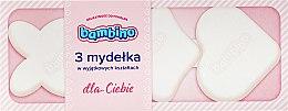Парфюми, Парфюмерия, козметика Комплект детски розови сапуни - Nivea Bambino (soap/3pc)