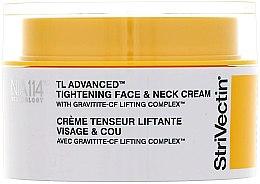 Парфюмерия и Козметика Укрепващ крем за лице и шия - StriVectin Tl Advanced Tightening Face And Neck Cream