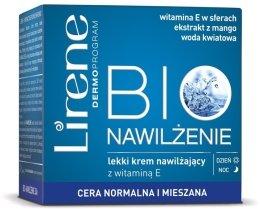 Парфюми, Парфюмерия, козметика Хидратиращ крем за нормална кожа - Lirene Bio Navilzenie Cream