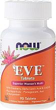 Парфюмерия и Козметика Мултивитамини за жени, за здрави нокти, коса и добър хормонален баланс - Now Foods Eve Womans Multi