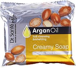 Парфюмерия и Козметика Крем-сапун за лице с арганово масло - Dr.Sante Cream Soap