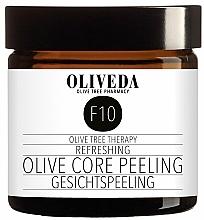 Парфюмерия и Козметика Освежаващ пилинг за лице с маслина - Oliveda F10 Refreshing Olive Core Peeling