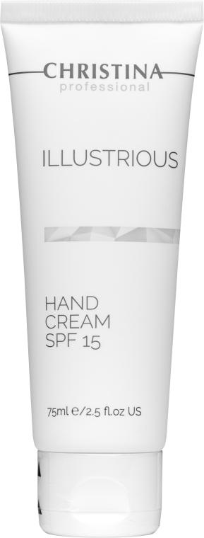 Защитен крем за ръце SPF15 - Christina Illustrious Hand Cream SPF15 — снимка N1