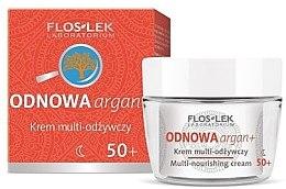 Парфюми, Парфюмерия, козметика Нощен подхранващ крем за лице - Floslek Multi-nourishing cream 50+