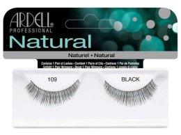 Парфюми, Парфюмерия, козметика Изкуствени мигли - Ardell Natural Lashes Black 109