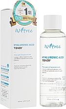 Парфюмерия и Козметика Овлажняващ тонер с хиалуронова киселина - IsNtree Hyaluronic Acid Toner