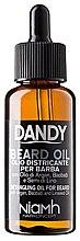 Парфюми, Парфюмерия, козметика Масло за брада и мустаци с арган - Niamh Hairconcept Dandy Beard Oil