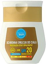 Парфюмерия и Козметика Слънцезащитен лосион SPF20 - Golden Sun