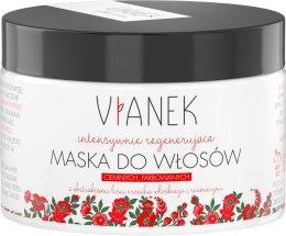Парфюмерия и Козметика Регенерираща маска за тъмни и боядисани коси - Vianek Dark Hair Mask