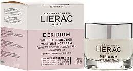Парфюми, Парфюмерия, козметика Крем за нормална и комбинирана кожа - Lierac Deridium Wrinkle Correction Moisturizing Cream