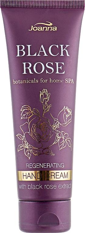 Регенериращ крем за ръце с екстракт от черна роза - Joanna Botanicals For Home Spa Regenerating Hand Cream Black Rose