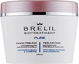 Почистваща пилинг-кал за скалп и коса - Brelil Bio Traitement Pure Peeling Mud — снимка N1