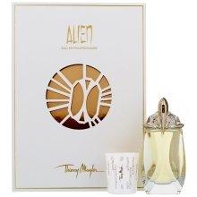 Парфюми, Парфюмерия, козметика Thierry Mugler Alien Eau Extraordinaire - Комплект (edt/60ml+свещ)