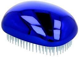 Парфюми, Парфюмерия, козметика Четка за коса, блестящо синя - Twish Spiky 3 Hair Brush Shining Blue