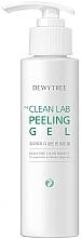 Парфюмерия и Козметика Изсветляващ пилинг-гел за лице - Dewytree The Clean Lab Peeling Gel