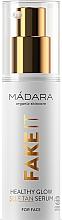 Парфюмерия и Козметика Серум автобронзант за лице - Madara Cosmetics Fake It Healthy Glow Self Tan Serum