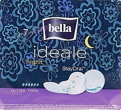 Парфюмерия и Козметика Дамски превръзки Ideale Night StayDrai, 7 бр. - Bella