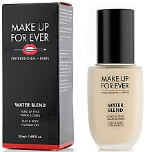Парфюмерия и Козметика Фон дьо тен - Make Up For Ever Water Blend Foundation