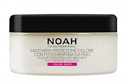 Парфюмерия и Козметика Маска за боядисана коса с ориз и фитокератин - Noah Hair Mask With Rice Phytokeratine