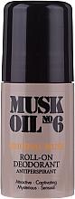 Парфюмерия и Козметика Дезодорант рол-он - Gosh Musk Oil No.6 Roll-On Deodorant