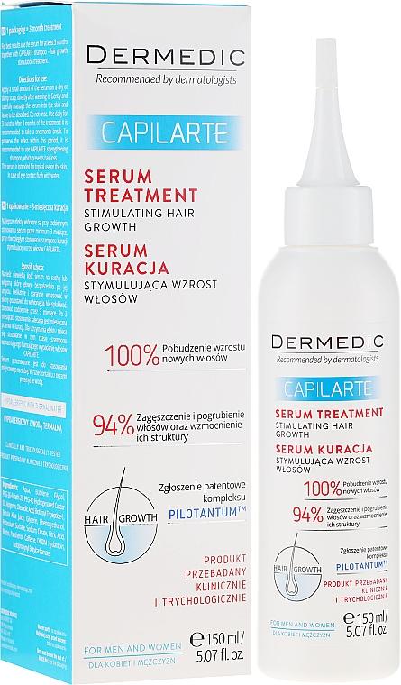 Серум, стимулиращ и възобновяващ растежа на косата - Dermedic Capilarte