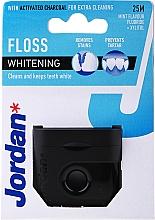 Парфюмерия и Козметика Избелващ конец за зъби с аромат на мента, 25 м - Jordan Whitening Floss