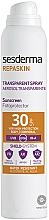 Парфюмерия и Козметика Слънцезащитен спрей за тяло - SesDerma Laboratories Repaskin DNA Repair Spray Transparente SPF30