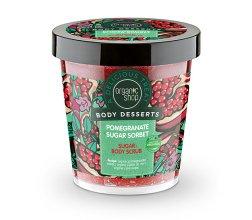 """Парфюми, Парфюмерия, козметика Ексфолиант за тяло """"Нар сорбет"""" - Body Desserts Pomegranate Sugar Sorbet Sugar Body Scrub"""