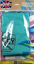 Парфюмерия и Козметика Фризьорска престилка , цвят мента - Ronney Professional Hairdressing Apron Azure