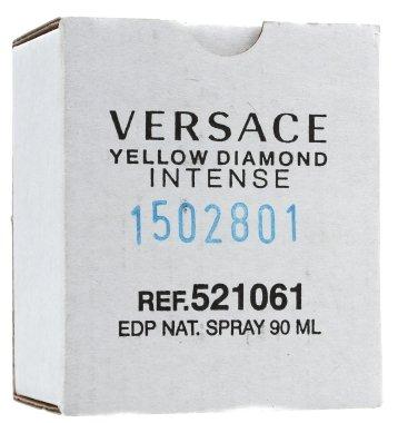 Versace Yellow Diamond Intense - Парфюмна вода ( тестер без капачка )  — снимка N4