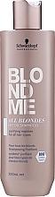Парфюмерия и Козметика Детокс шампоан за руса коса - Schwarzkopf Professional Blondme All Blondes Detox Shampoo